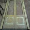 Ristrutturazione di una porta e di una finestra in legno di castagno