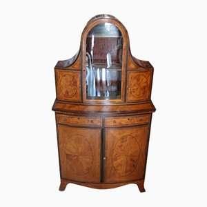 Antica vetrinetta Giorgio III inglese inizi ottocento